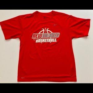 Nike UNM Women's Basketball Training Shirt Sz L